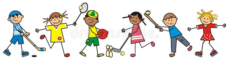 chidren-sports-discipline-vector-icon-hockey-tennis-bowling-floorbal-baseball-skating-86051016